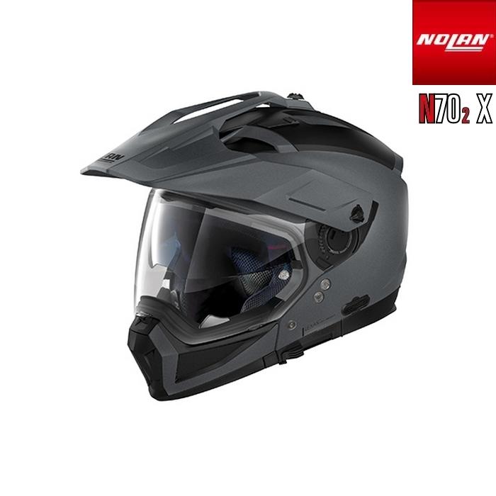NOLAN NOLAN N702 X ソリッド フラットバルカングレー/2 アドベンチャークロスオーバーヘルメット
