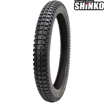 SHINKOタイヤ 〔WEB価格〕 SR241-2.75-19 フロント/リア