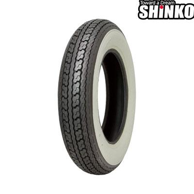 SHINKOタイヤ 〔WEB価格〕 SR550-3.50-10 W1 フロント/リア