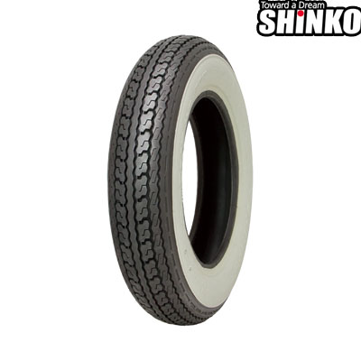 SHINKOタイヤ 〔WEB価格〕 SR550-4.00-8 W1 フロント/リア