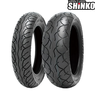 SHINKOタイヤ SR567-110/90-13 フロント