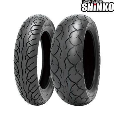 SHINKOタイヤ 〔WEB価格〕 SR568-130/70-13 リア