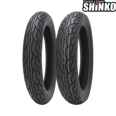 SHINKOタイヤ 〔WEB価格〕 SR610-3.50-18 フロント/リア