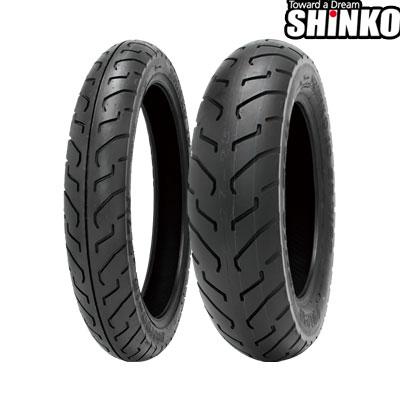 SHINKOタイヤ SR712-100/90-19 フロント