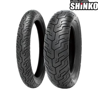SHINKOタイヤ SR734-170/80-15 リア