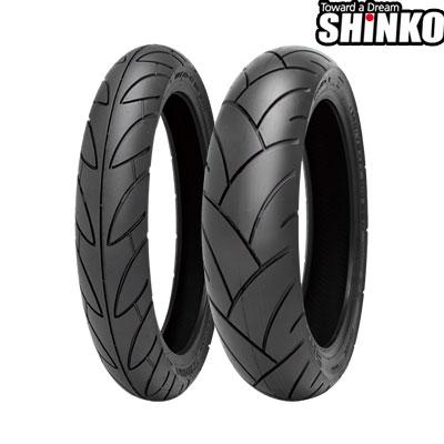 SHINKOタイヤ SR741-130/70-17 リア