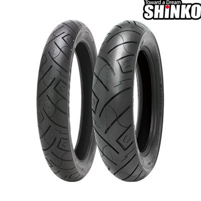 SHINKOタイヤ SR777-100/90-19 フロント