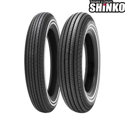SHINKOタイヤ E270-5.00-16 W2 フロント/リア