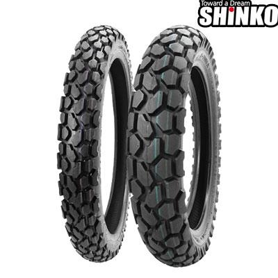 SHINKOタイヤ 〔WEB価格〕 E700-3.00-21 フロント/リア