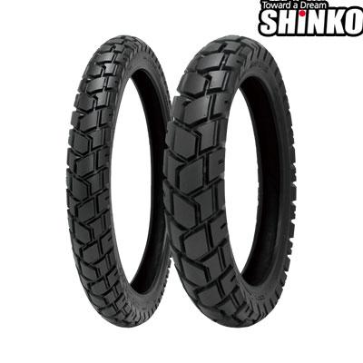 SHINKOタイヤ 〔WEB価格〕 E705-110/80-19 59Q フロント