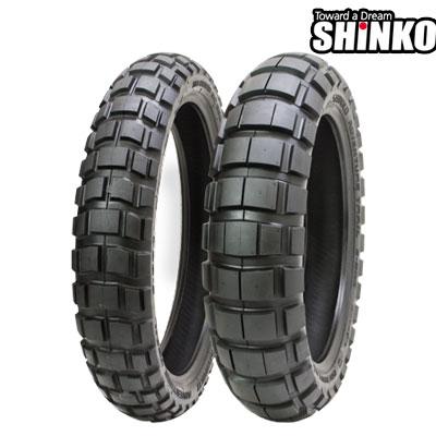 SHINKOタイヤ 〔WEB価格〕 E804-100/90-19 フロント