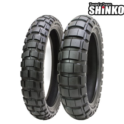 SHINKOタイヤ 〔WEB価格〕 E804/90/90-21 フロント