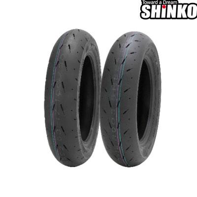 SHINKOタイヤ 〔WEB価格〕 F003-100/90-12(MCF) フロント