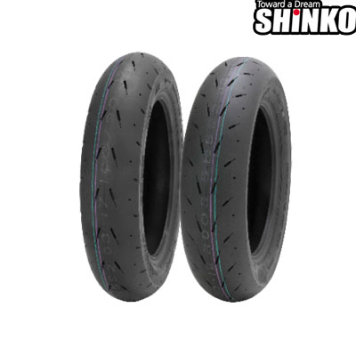 SHINKOタイヤ 〔WEB価格〕 F003-100/90-12(SCF) フロント