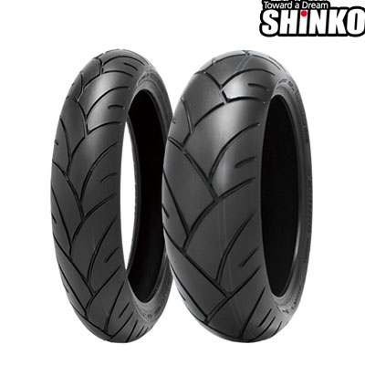 SHINKOタイヤ F005 ADVANCE-120/60ZR17 フロント