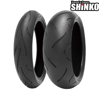 SHINKOタイヤ 〔WEB価格〕 010 APEX-120/70ZR17 フロント