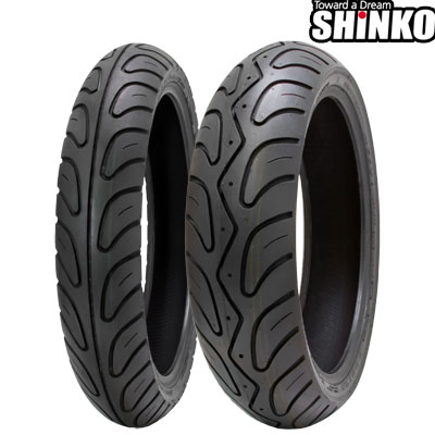 SHINKOタイヤ 006 PODIUM-140/60ZR17 リア