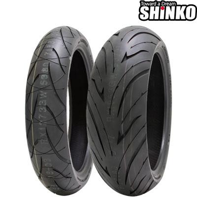 SHINKOタイヤ 016 VERGE 2X-180/55ZR17 リア