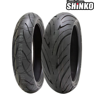 SHINKOタイヤ 〔WEB価格〕 016 VERGE 2X-190/50ZR17 リア