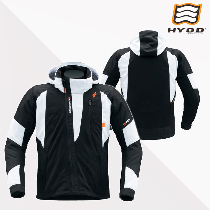 HYOD PRODUCTS STJ039DN ST-S LUNY D3O PARKA BLACK/WHITE◆全3色◆