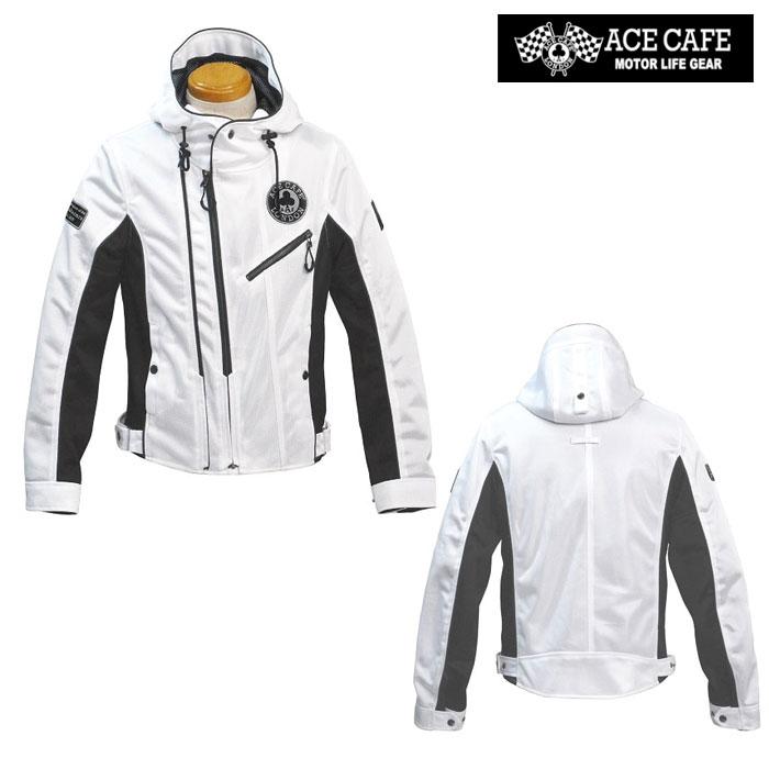 〔WEB価格〕★新作★ SS2001MJ-WH メッシュW2フーデッドジャケット ホワイト ◆全3色◆