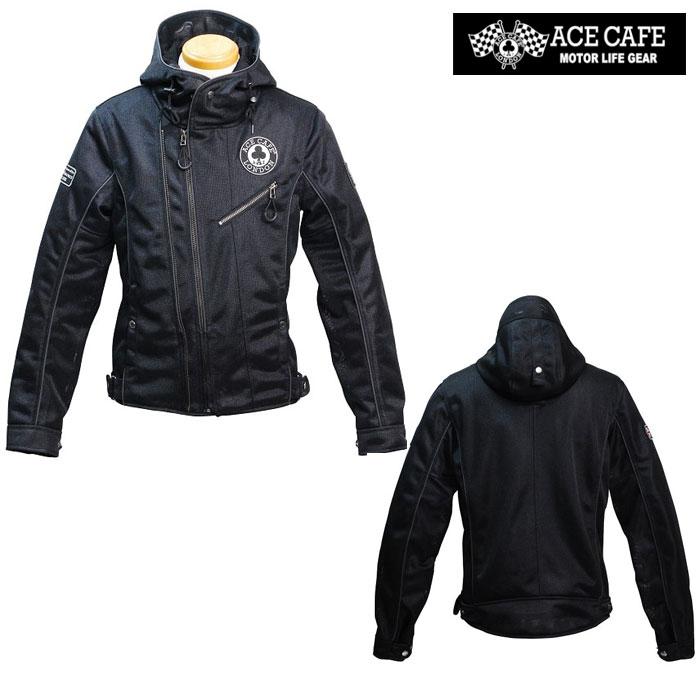〔WEB価格〕★新作★ SS2001MJ-BK メッシュW2フーデッドジャケット ブラック ◆全3色◆