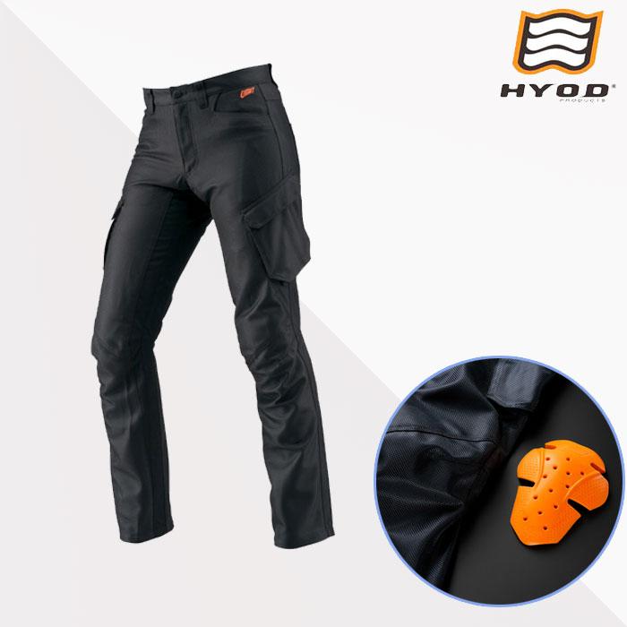 HYOD PRODUCTS ★新作★STT007D ST-S Lite D3O PANTS(STRAIGHT) BLACK◆全3色◆