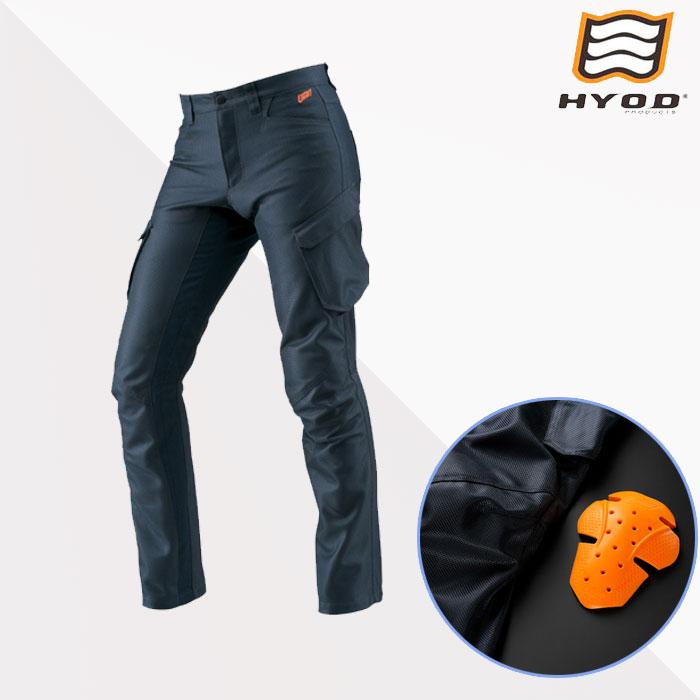 HYOD PRODUCTS ★新作★STT007D ST-S Lite D3O PANTS(STRAIGHT) NAVY◆全3色◆
