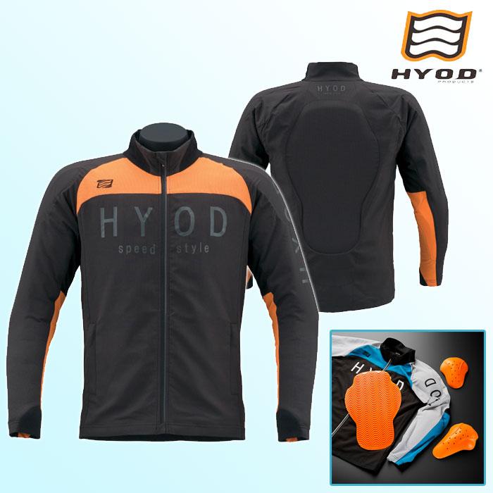 HYOD PRODUCTS STJ311D ST-S UCHIMIZU D3O iD COOL DRY JAC ジャケット BLACK/ORANGE◆全6色◆