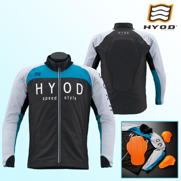 HYOD PRODUCTS STJ311D ST-S UCHIMIZU D3O iD COOL DRY JAC ジャケット BLACK/TURQUOISE◆全6色◆