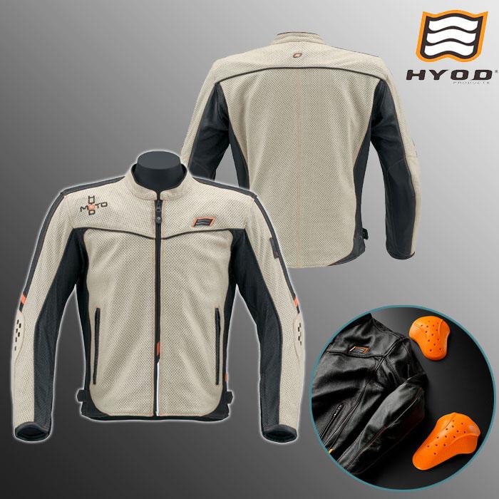 HYOD PRODUCTS HSL011DS IKUL D3O ST-X LEATHER JAC ジャケット IVORY/BLACK◆全5色◆