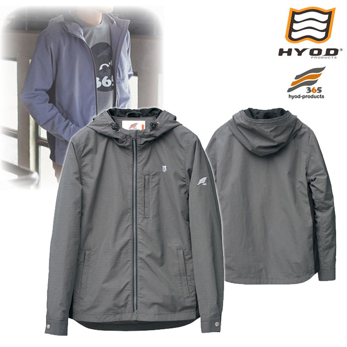"HYOD PRODUCTS H3J004 HYOD365 PARKA ""framea"" ジャケット DARK GREY◆全3色◆"