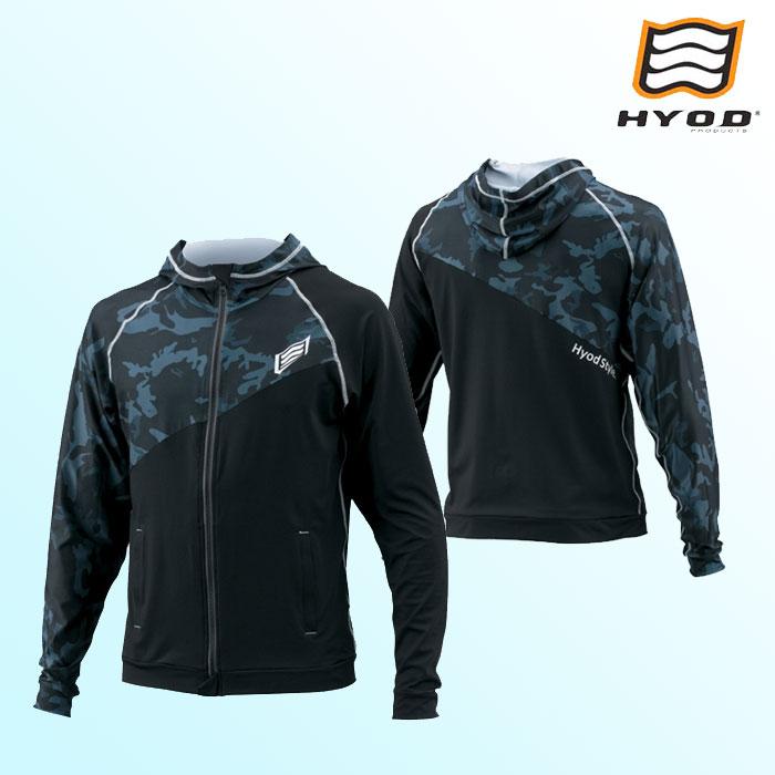 HYOD PRODUCTS 【6月仕上り予定】STU111N HYOD RELAX RASH PARKA(LONG) BLACK/BLACK CAMO◆全4色◆