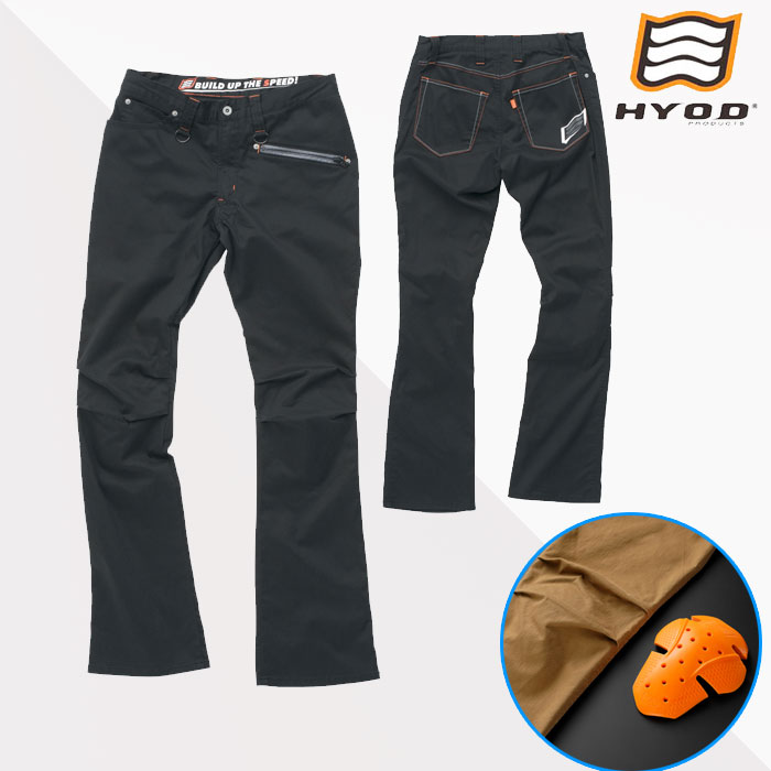 HYOD PRODUCTS HYD511DS HYOD D3O RIDE PANTS BLACK◆全2色◆