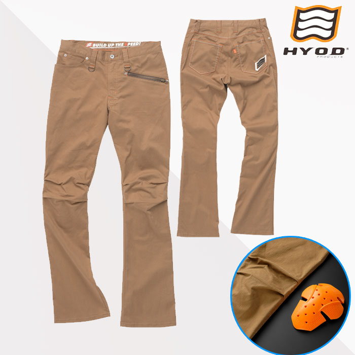 HYOD PRODUCTS HYD511DS HYOD D3O RIDE PANTS CAMEL◆全2色◆