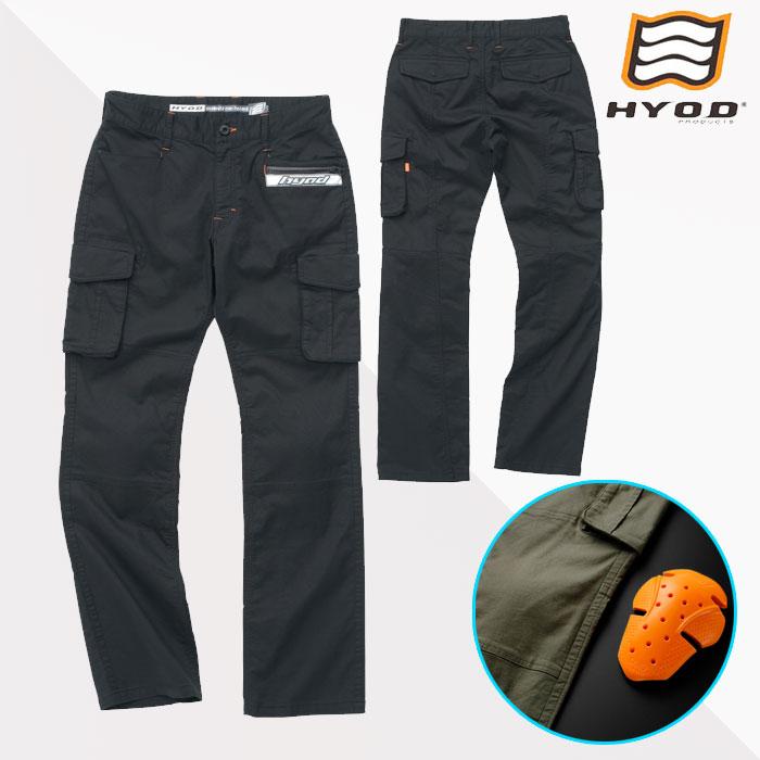 HYOD PRODUCTS HYD513DS HYOD D3O CARGO PANTS BLACK◆全3色◆