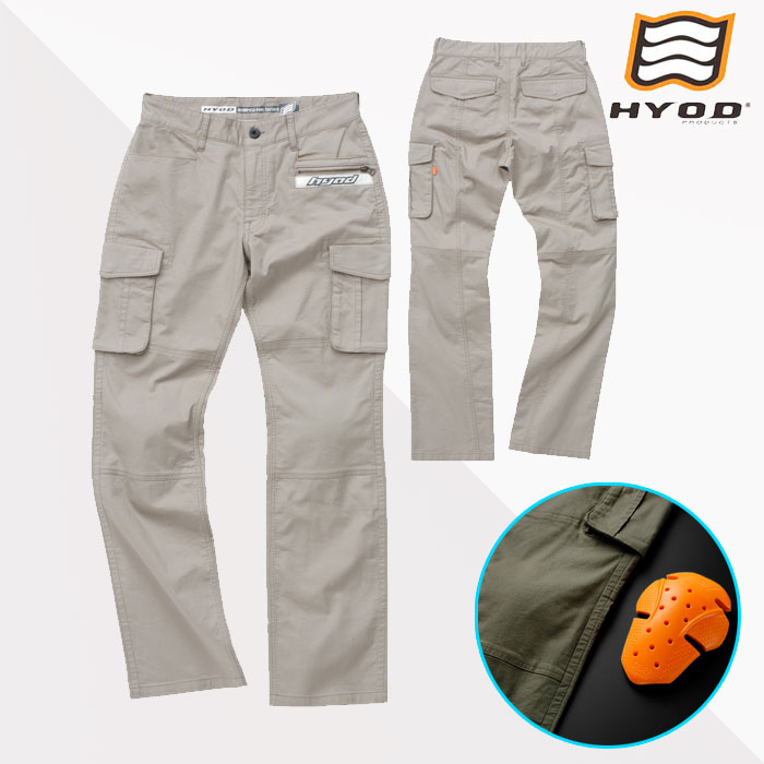 HYOD PRODUCTS HYD513DS HYOD D3O CARGO PANTS BEIGE◆全3色◆