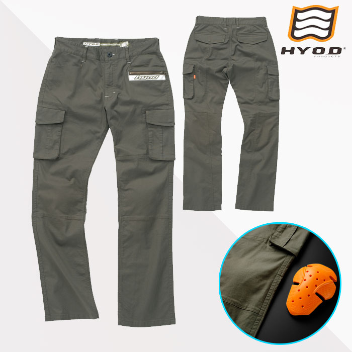 HYOD PRODUCTS HYD513DS HYOD D3O CARGO PANTS MILITARY GREEN◆全3色◆