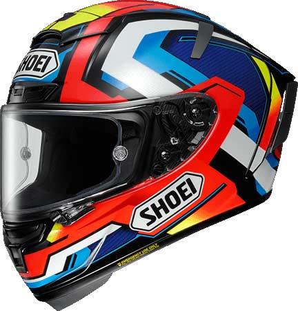 SHOEI ヘルメット X-Fourteen BRINK【エックス-フォーティーン ブリンク】 フルフェイス ヘルメット TC-1