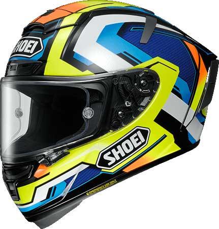 SHOEI ヘルメット X-Fourteen BRINK【エックス-フォーティーン ブリンク】 フルフェイス ヘルメット TC-10