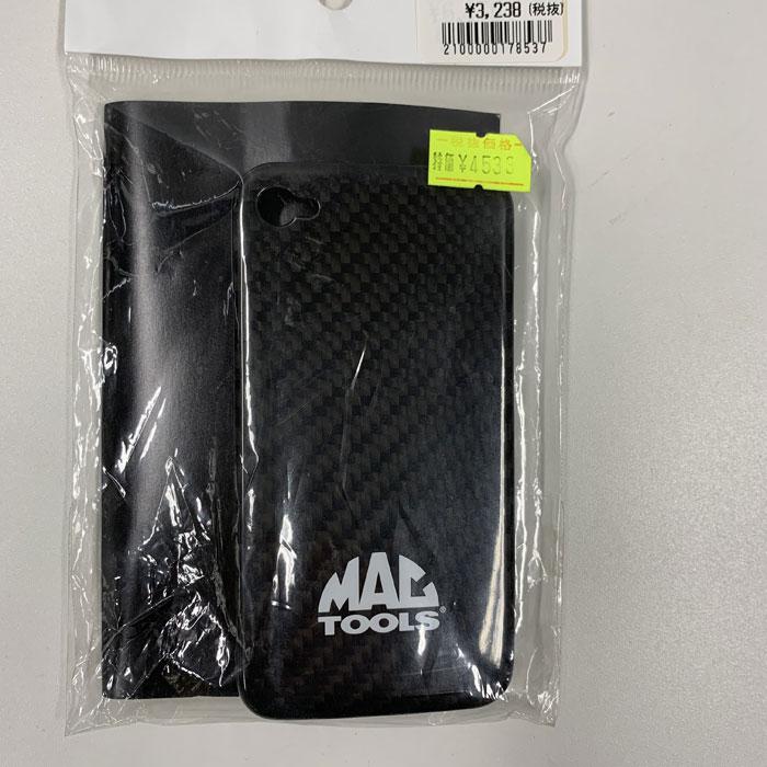 MAC TOOLS 【アウトレット】マックツール カーボンIPHONE4カバー