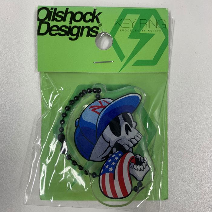 OILSHOCK DESIGNS 【アウトレット】オイルショックデザインズ アクリルキーホルダー AKY007