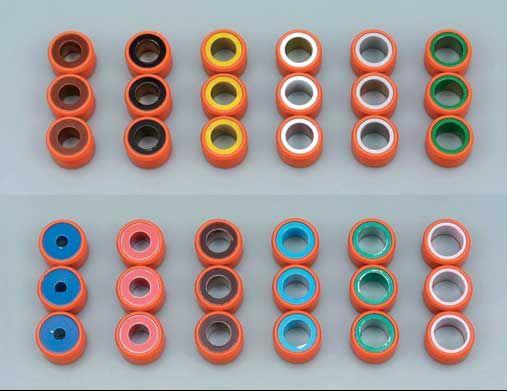 DAYTONA 【アウトレット】個別配送のみ スーパースプリントウエイトローラー(3個セット)  スズキ系 外径φ17(幅12mm)