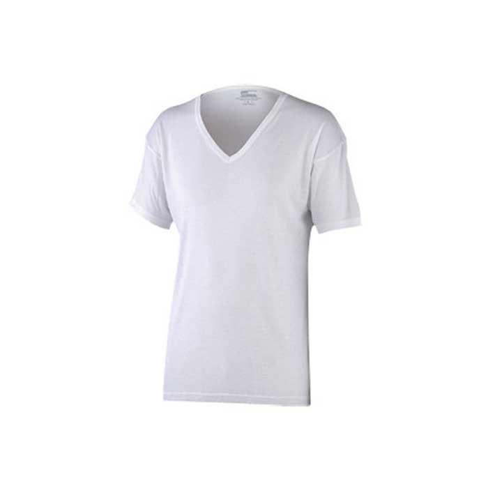 おたふく手袋 【アウトレット】個別配送のみ BTサーモ アンダーシャツ半袖Vネック 防寒 ホワイト