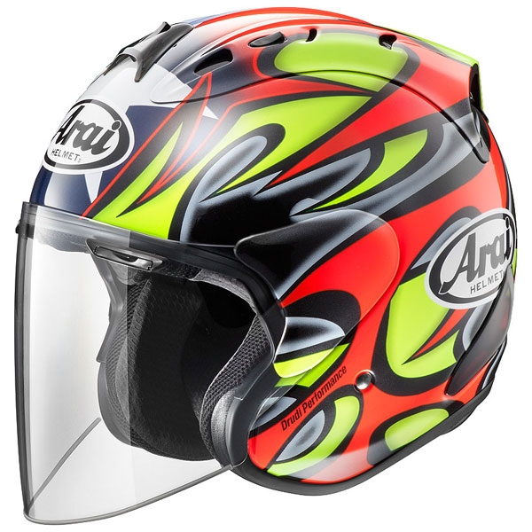 Arai 【アウトレット】SZ-RAM4 EDWARDS TRIBUTE ジェットヘルメット