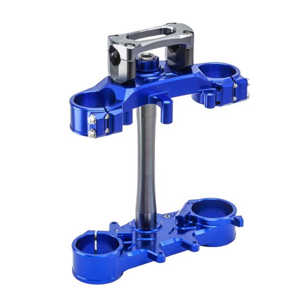DIRTFREAK ZE14-4252 ZETA バークランプ セット WR250R/X BLUE