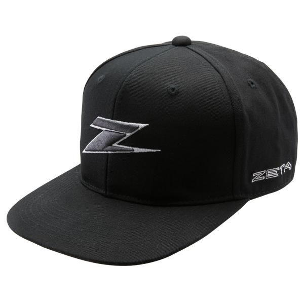 DIRTFREAK ZE20-1101 ZETA スナップバックハット BLACK