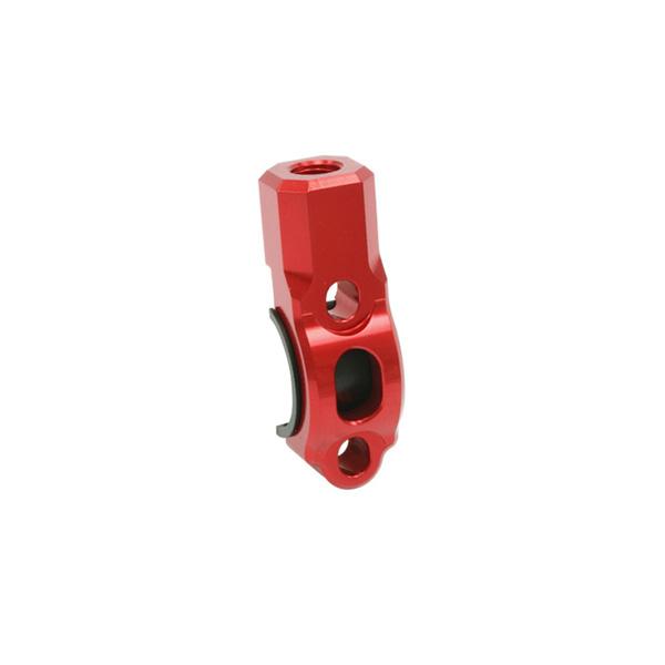 DIRTFREAK ZE40-6002 ZETA ローテティングバークランプ ミラーホール10mm RED