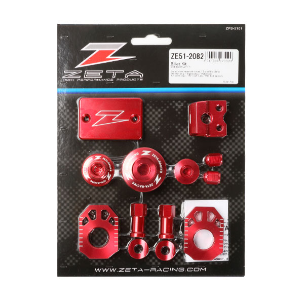 DIRTFREAK 【WEB価格】ZE51-2082 ZETA ビレットキット CRF250ラリー RED