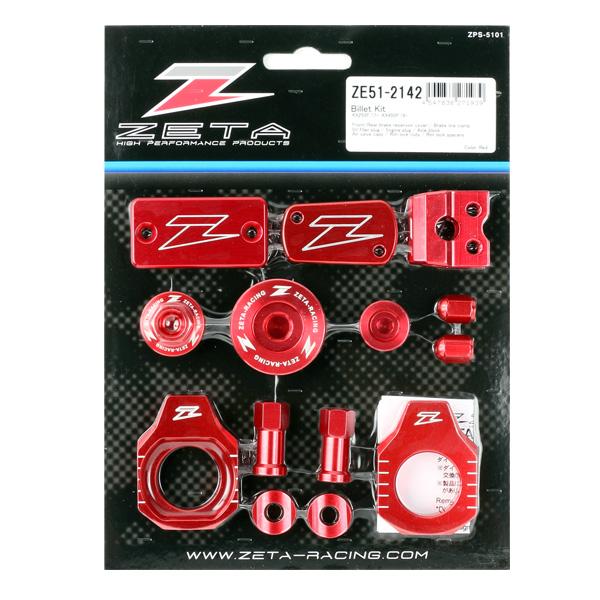 DIRTFREAK ZE51-2142 ZETA ビレットキット KX250F'17-,450F'16- RED